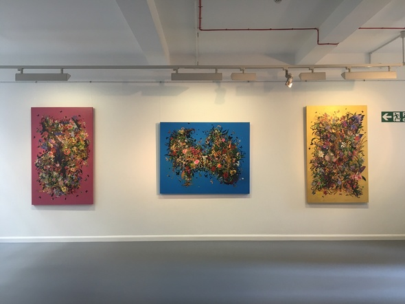 Installation shot: Priyantha Udagedara, Garden of Earthly Delights