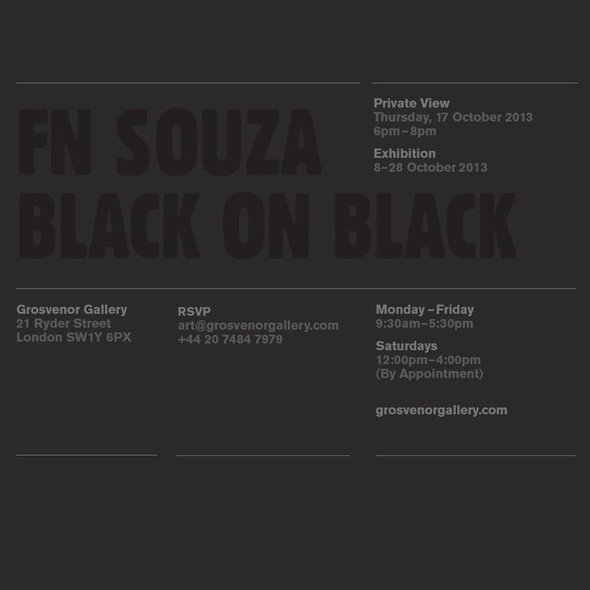 FN Souza, Black on Black