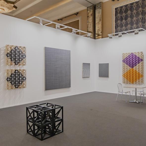 D Art Exhibition In Dubai : Mendes wood dm otobong nkanga