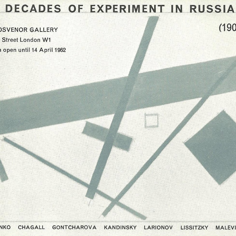 Two Decades of Experiment in Russian Art (1902-1922)